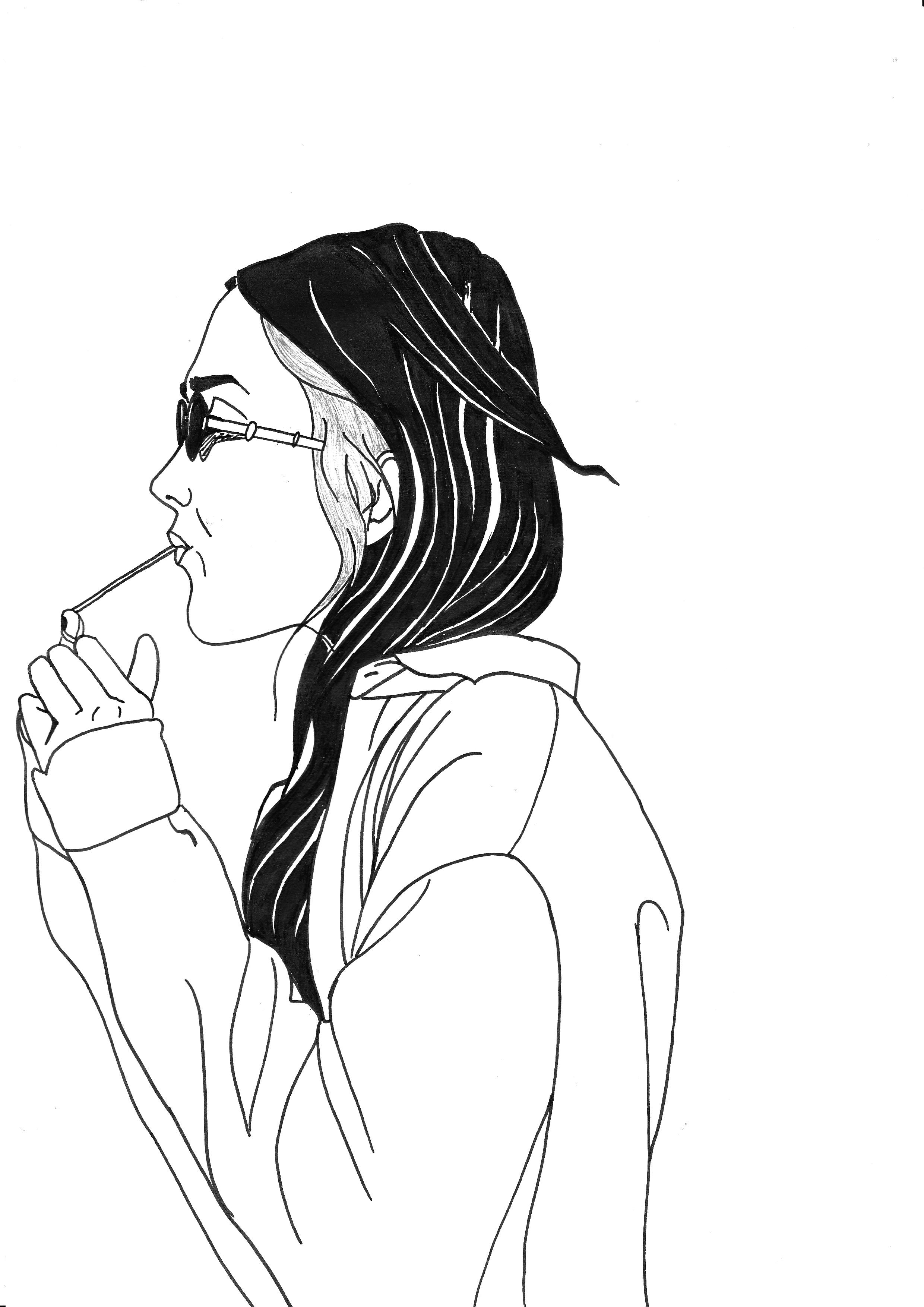 Flirt  Illustration