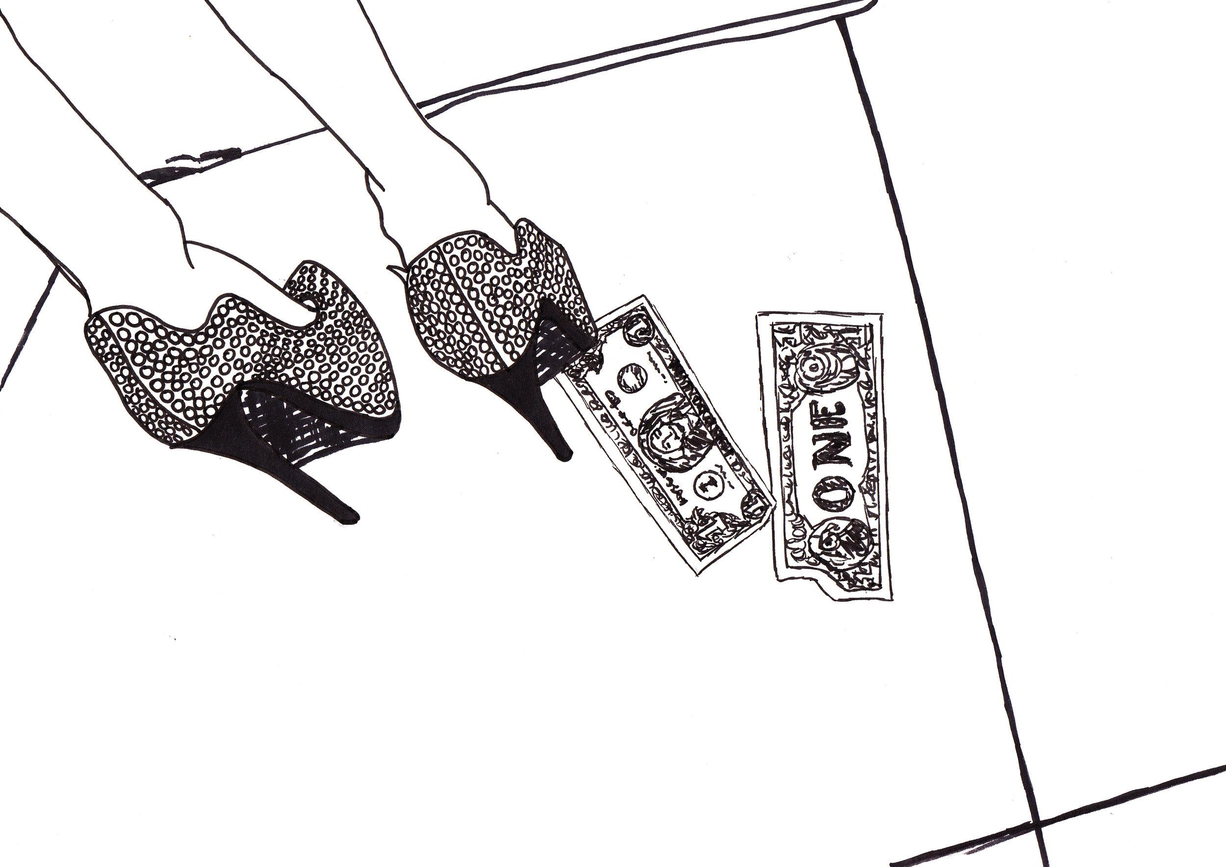 No money no...  Illustration