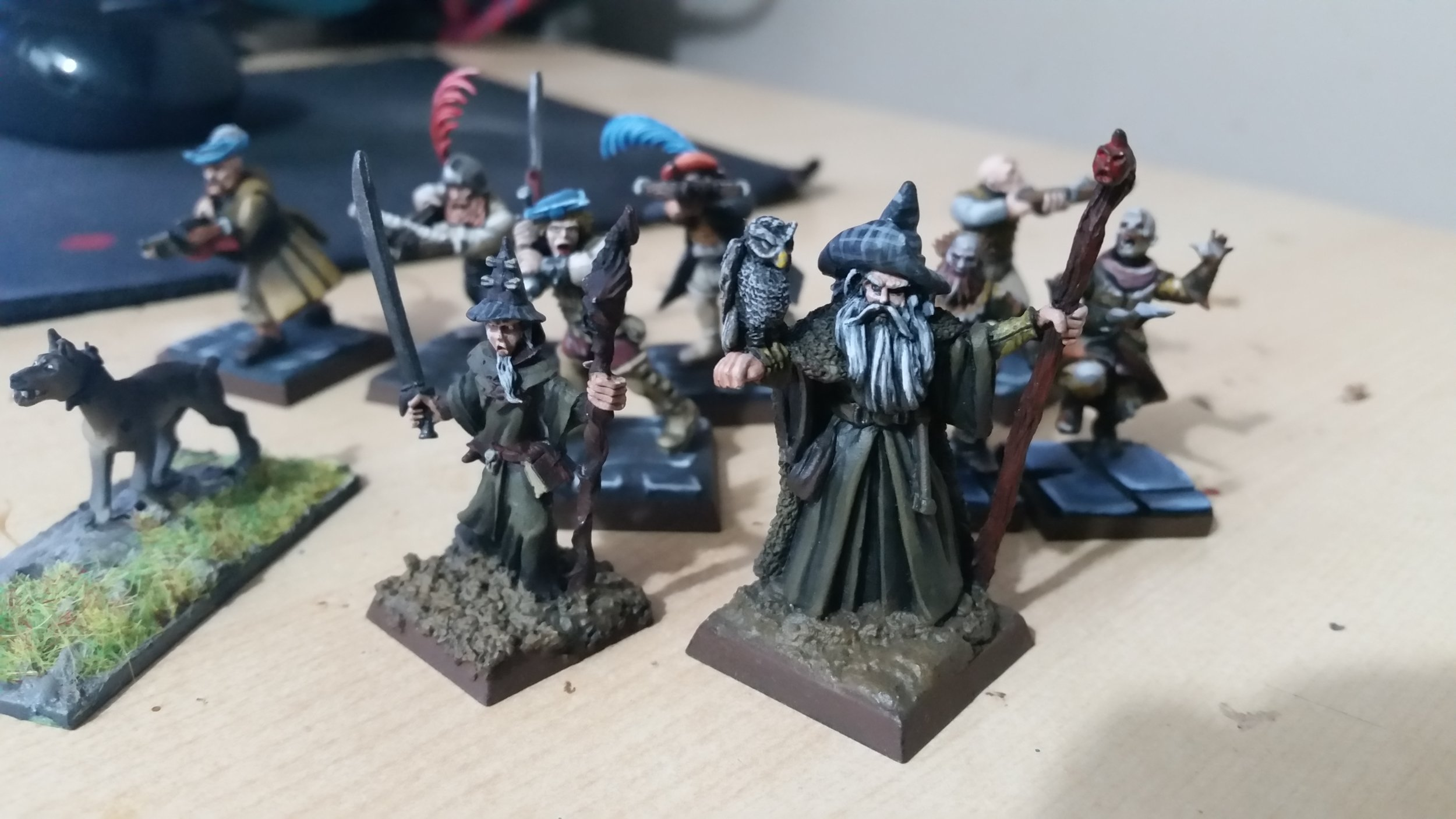 What's this? A Frostgrave warband!?