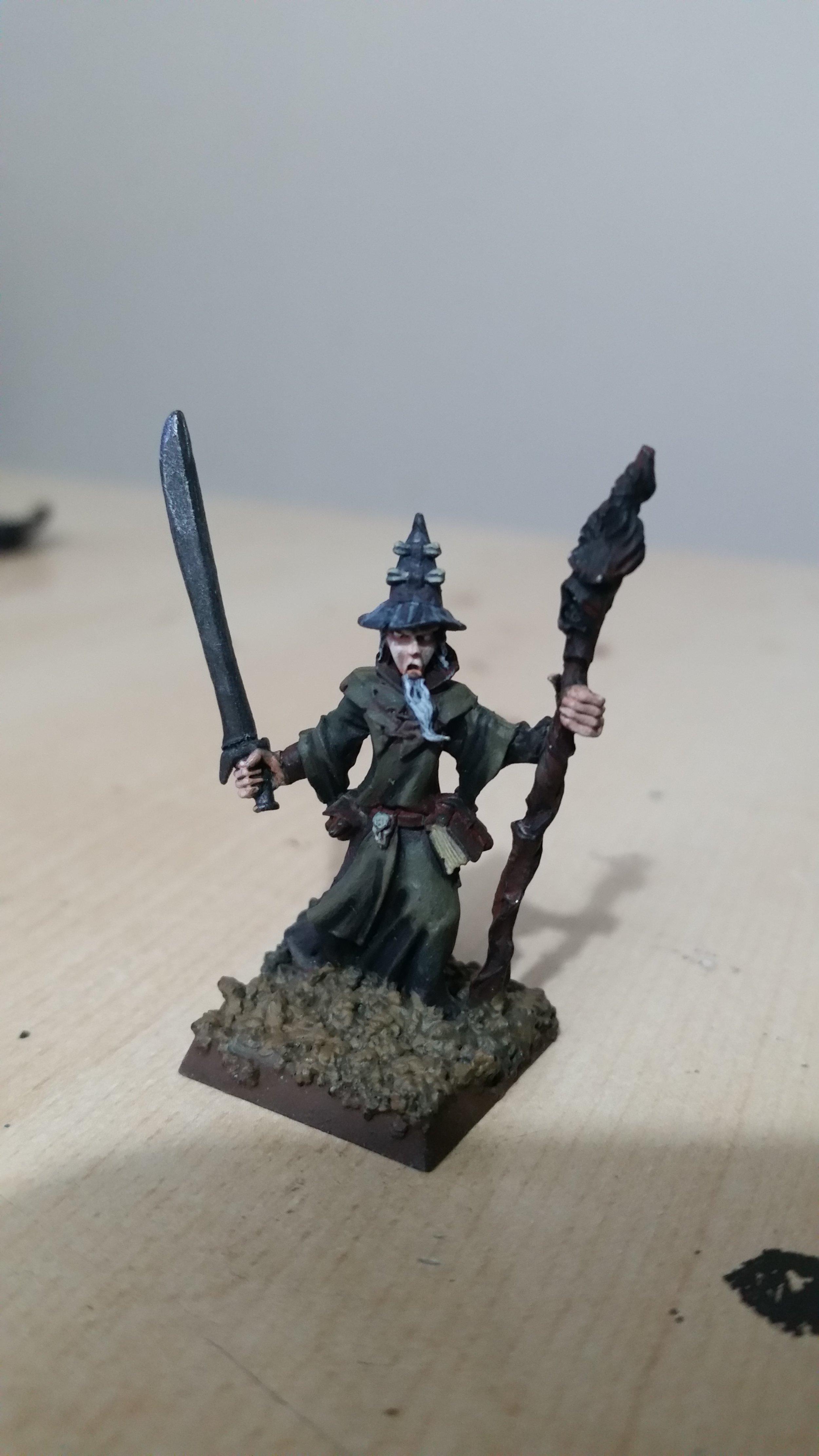 Stormcrow the Thaumaturge Apprentice. 200pts