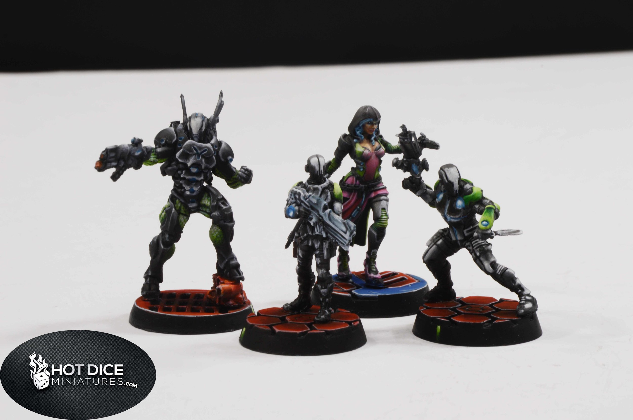 Hot Dice Miniatures Infinity Nomads