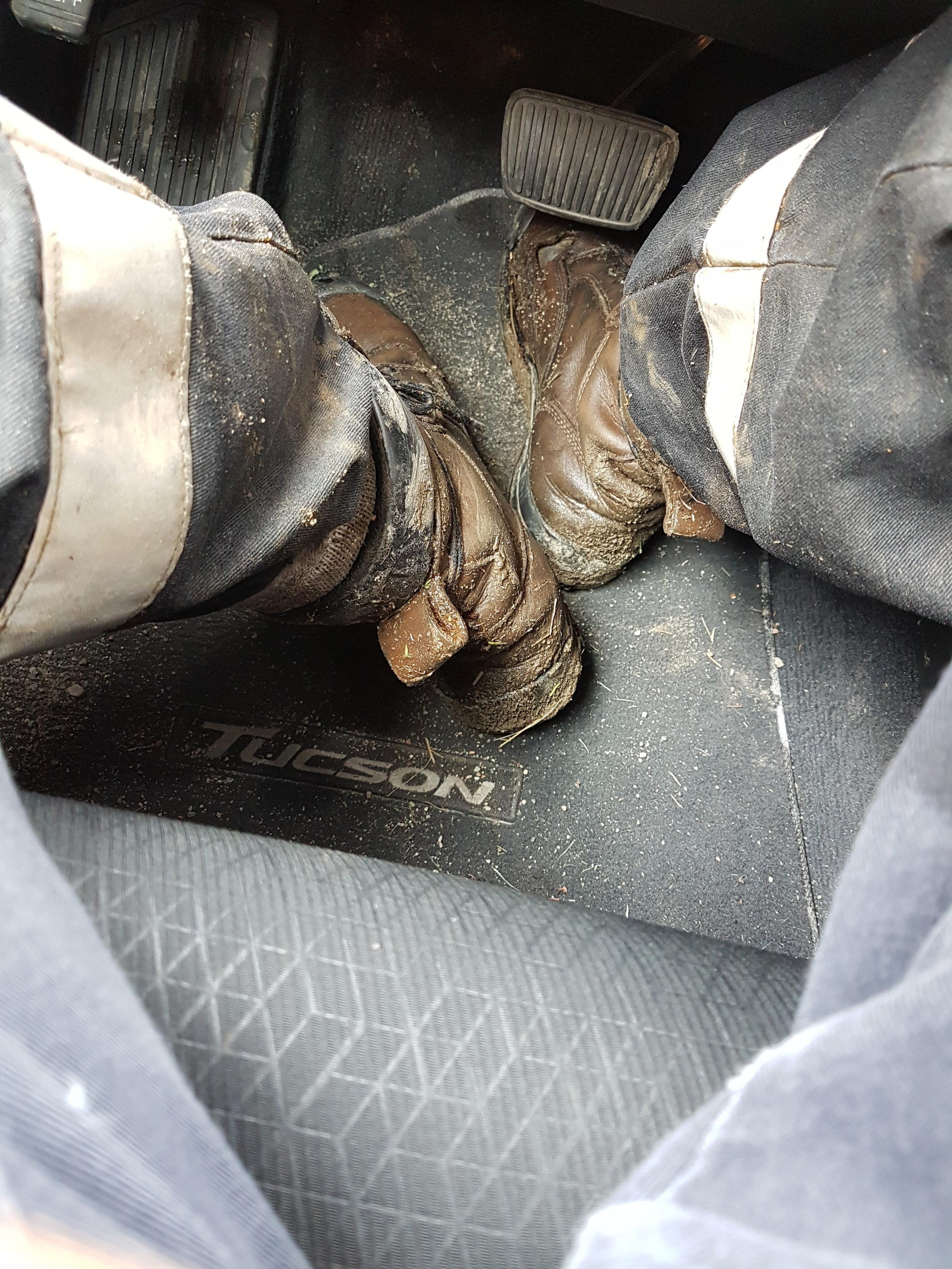 I hope you like wet socks.