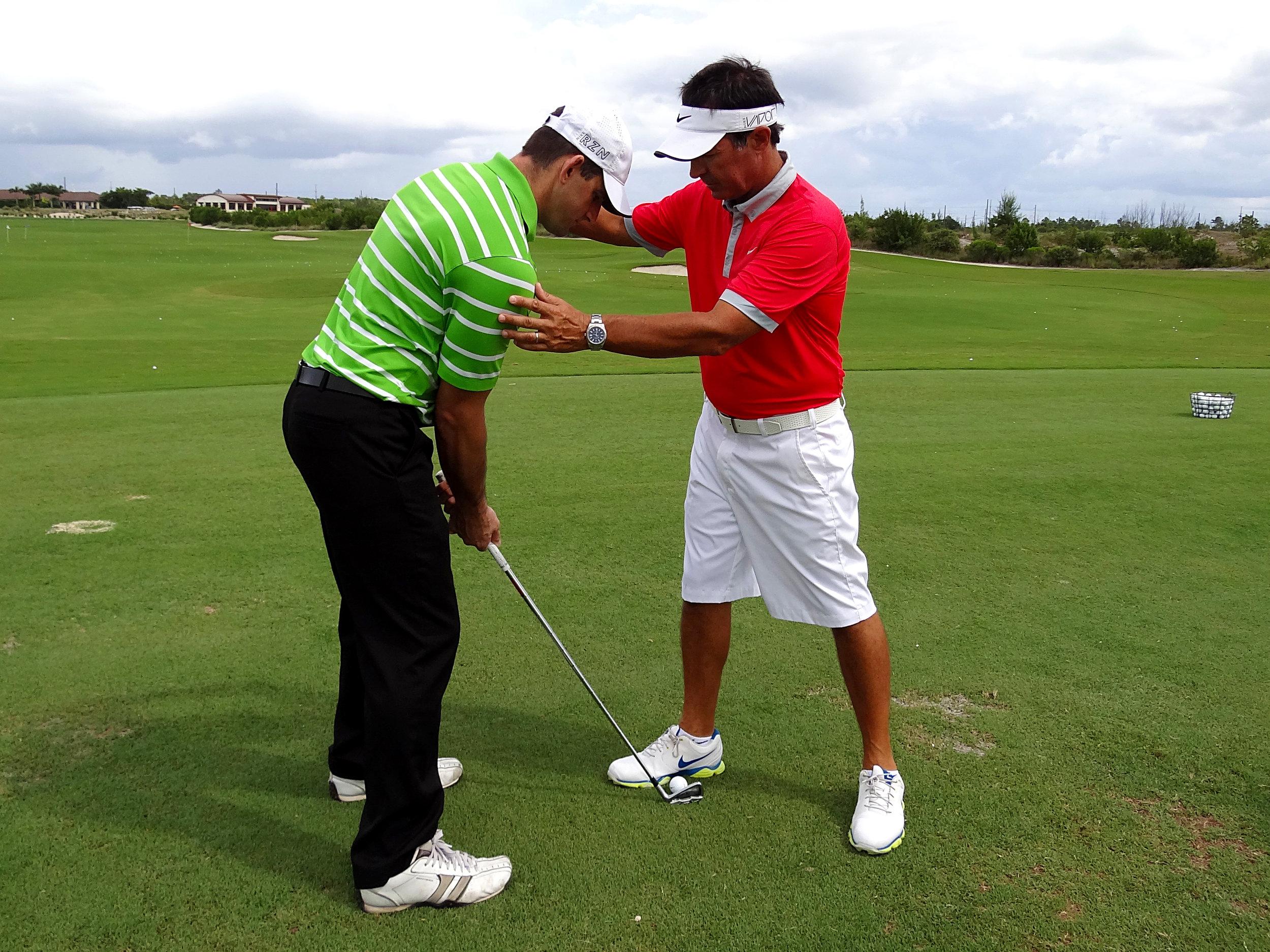 mitchell spearman golf instruction 1