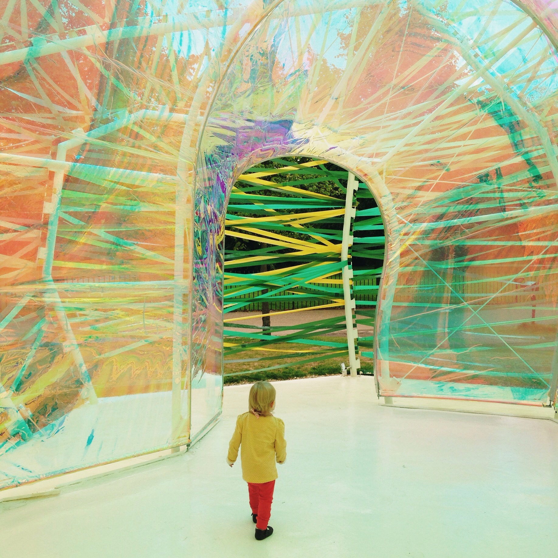 The photo featured by    @vsco    that started it all - my youngest daughter Esme at the Serpentine gallery in Hyde Park. Ironically it had no VSCO filter applied and was completely unedited!
