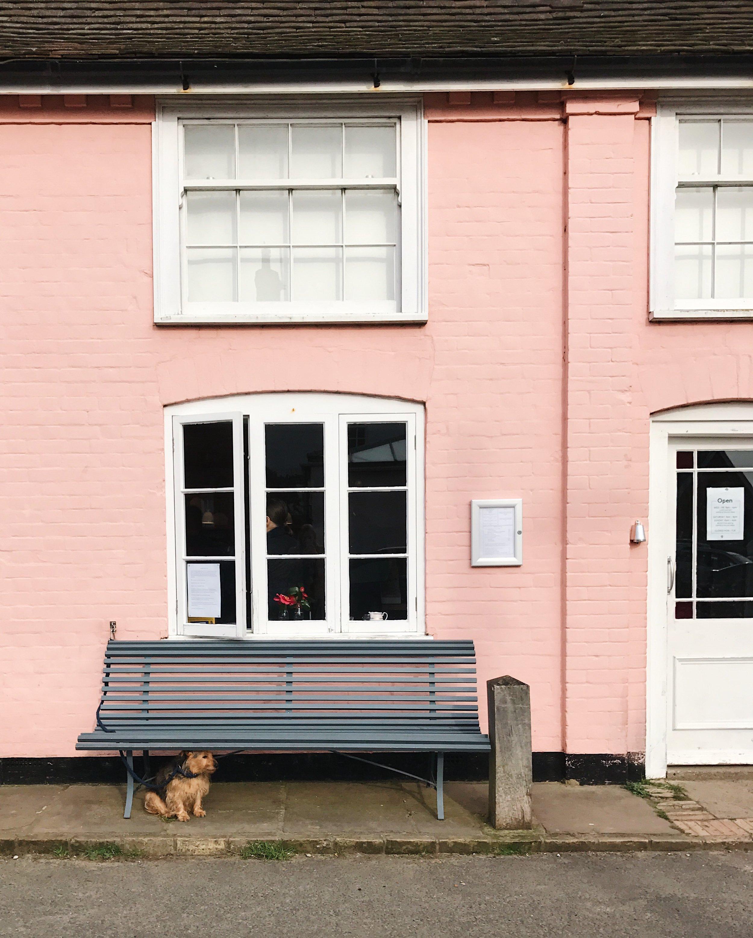 That Suffolk pink!