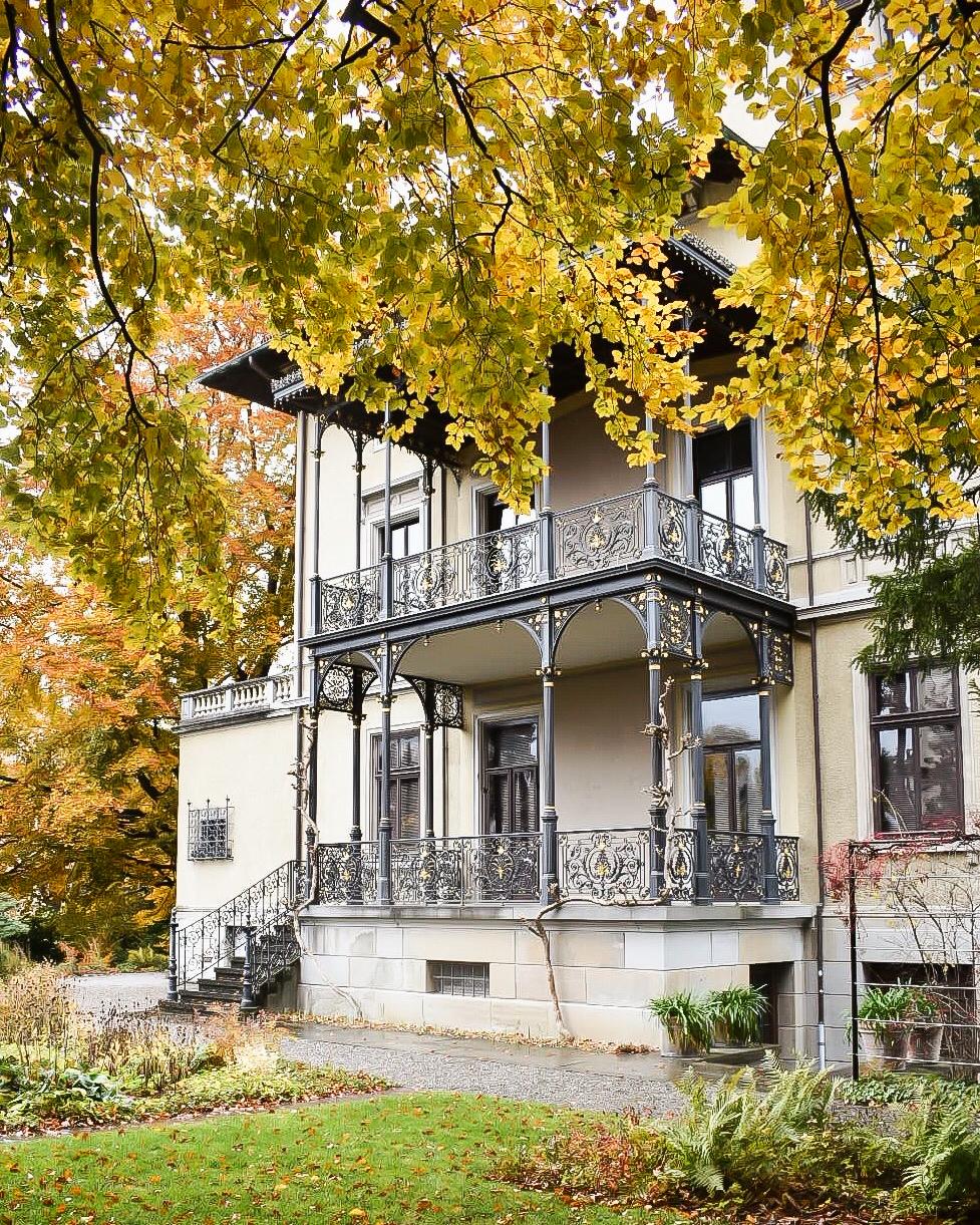 The beautiful Villa Tobler