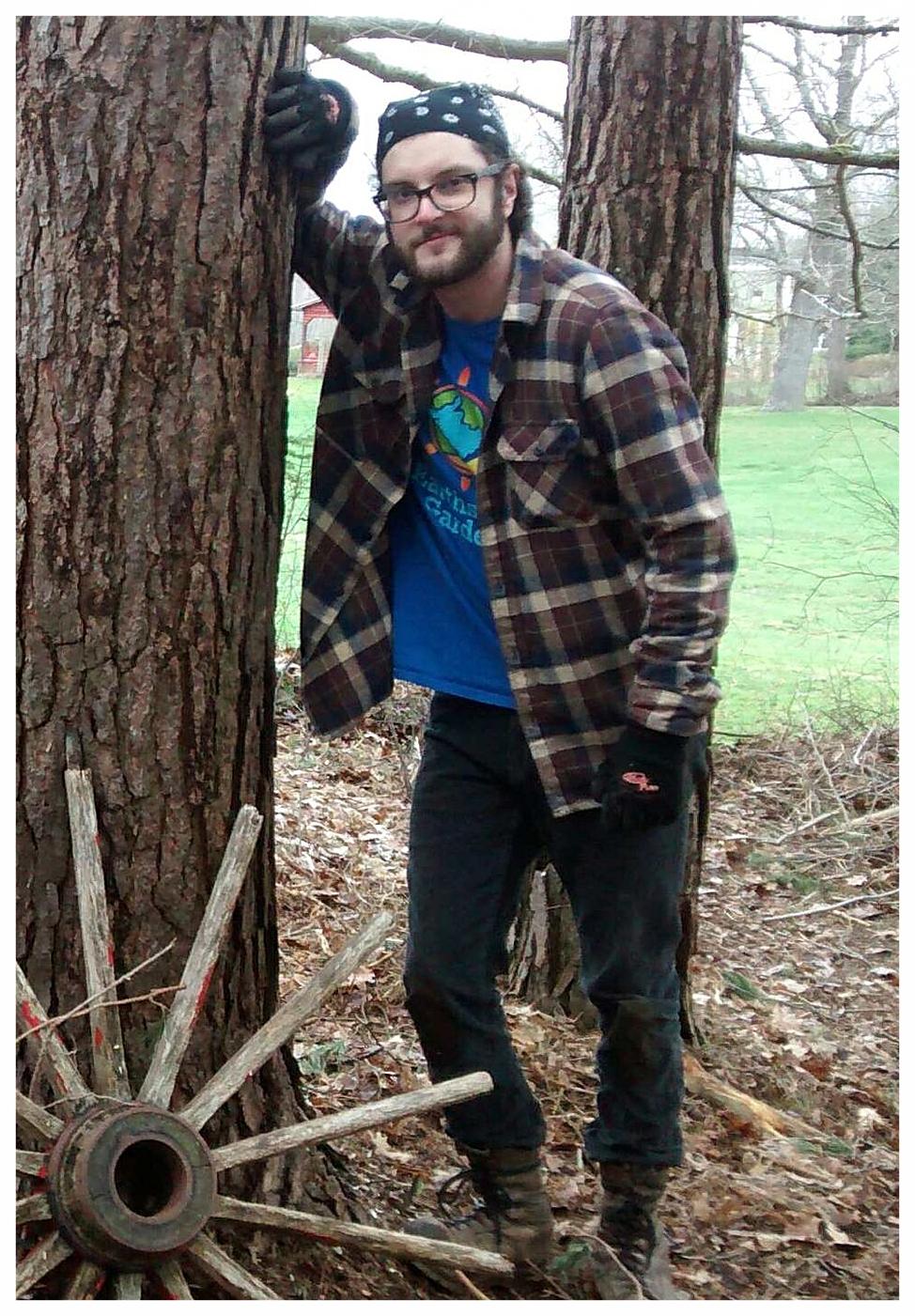 Garett Schwartz Forest Technician Earthshine Gardens