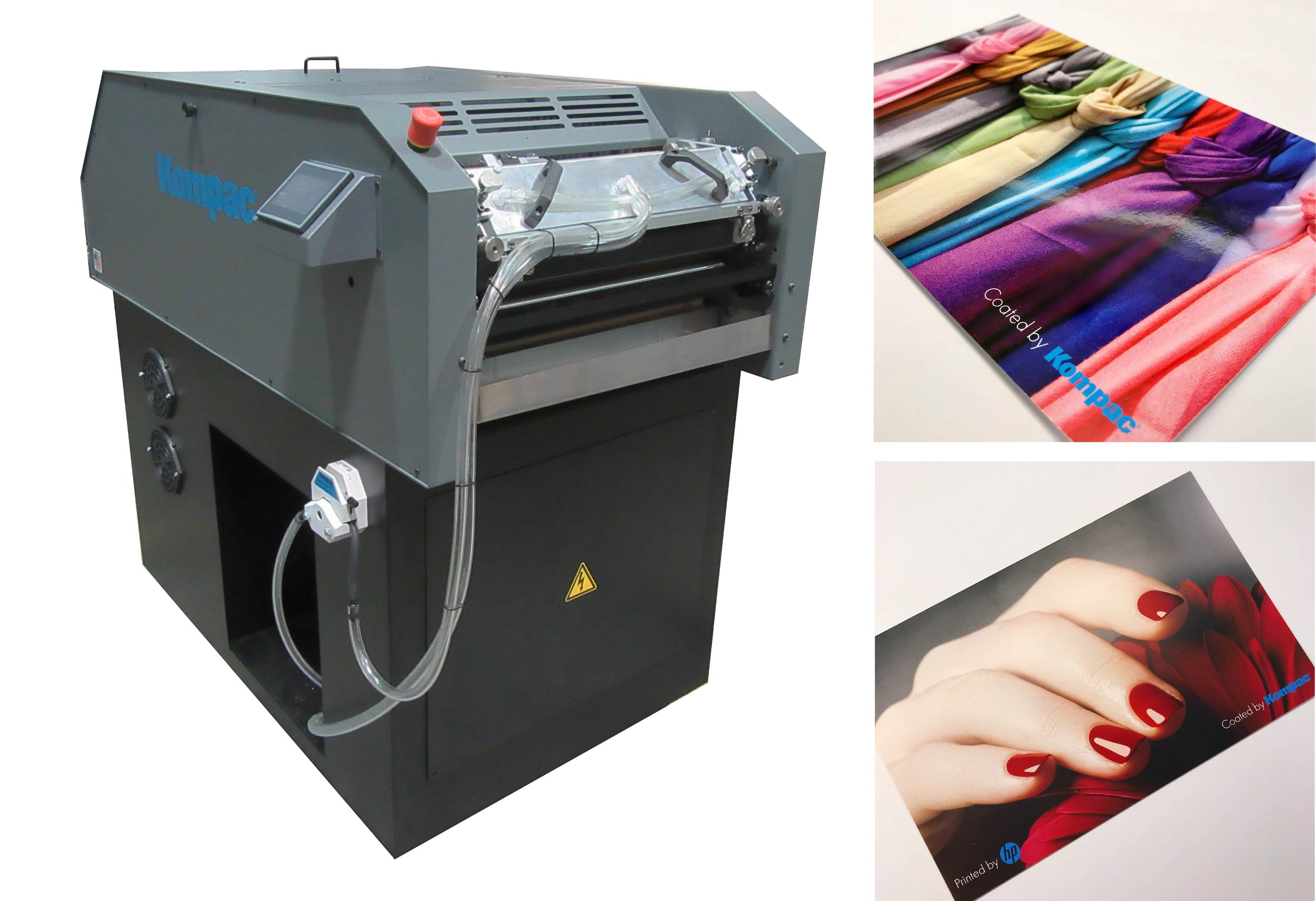 Kompac EZ Koat 20 with High Gloss and Soft Touch Coating