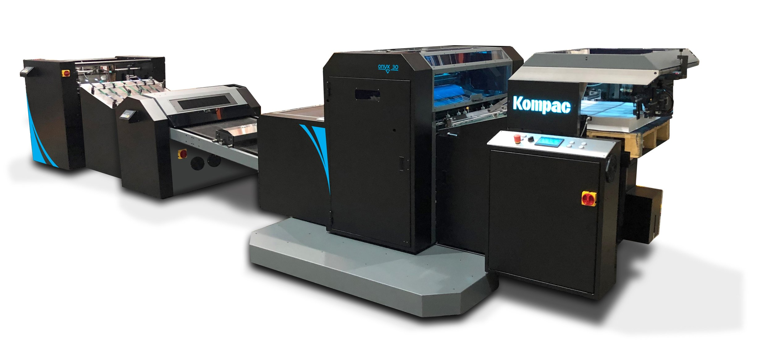 Kompac Onyx 30 UV/Aqueous Coating and Priming System