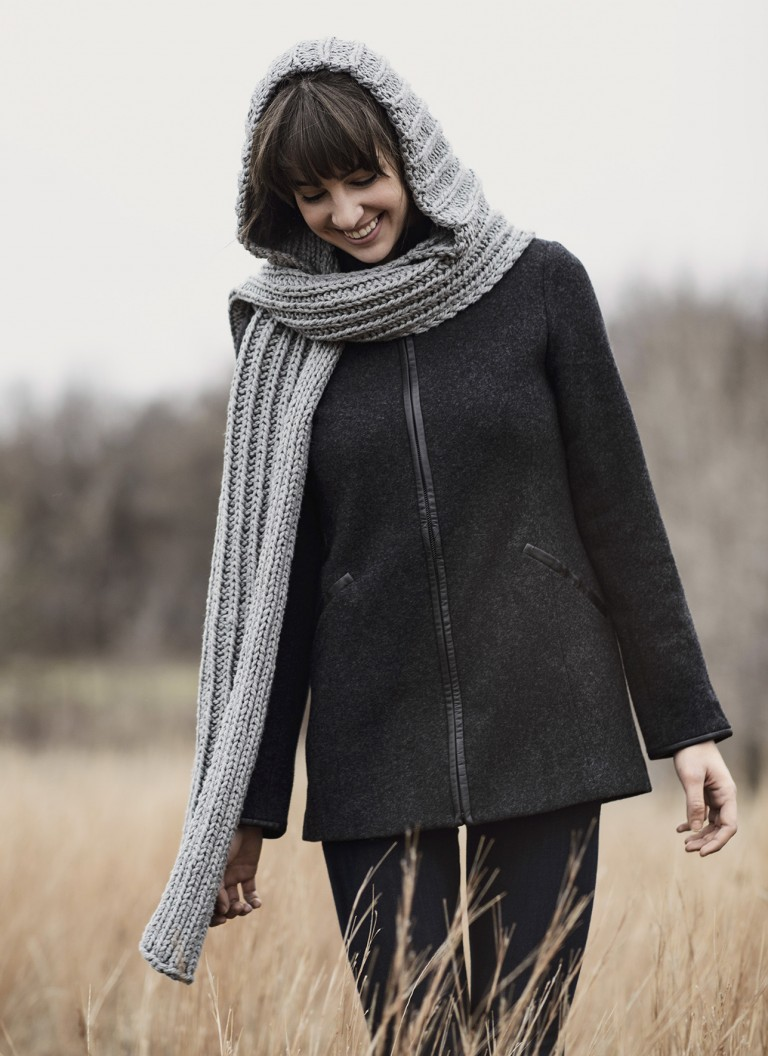 <strong>Breezy Point Hood Scarf Pattern</strong><br>$9.00<br>.