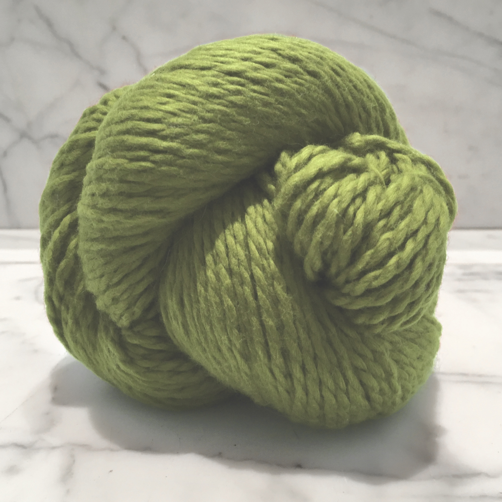 Blue Sky Fibers Organic Cotton<br><strong>Wasabi</strong><br>.
