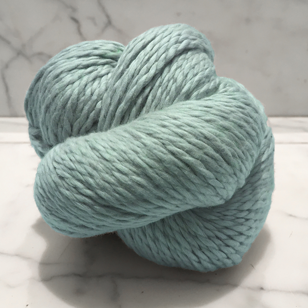 Blue Sky Fibers Organic Cotton<br><strong>Azul</strong><br>.