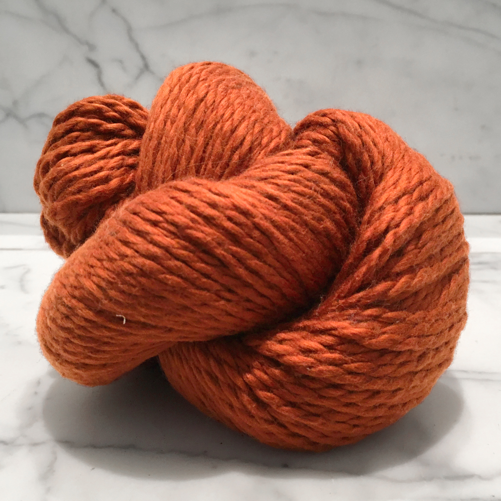 Blue Sky Fibers Organic Cotton<br><strong>Pumpkin</strong><br>.