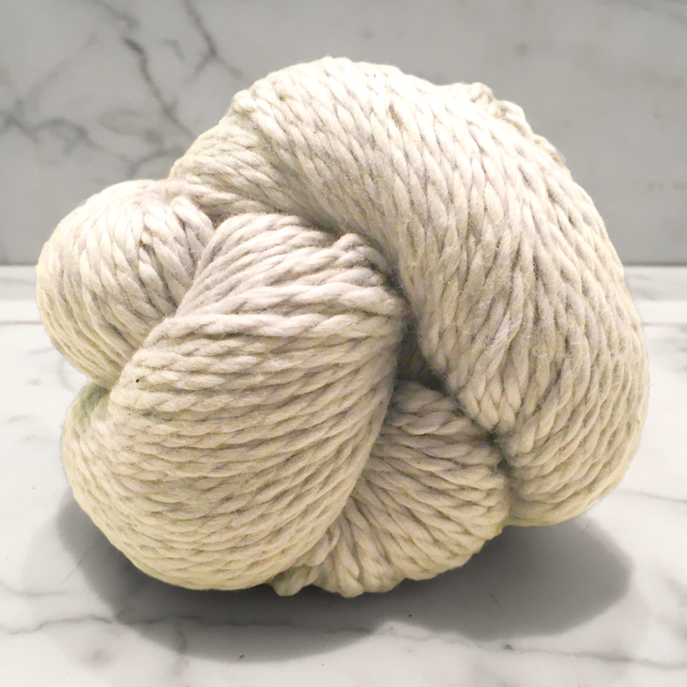 Blue Sky Fibers Organic Cotton<br><strong>Bone</strong><br>.