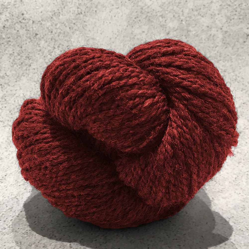 Blue Sky Fibers Woolstok<br><strong>Red Rock</strong><br>.