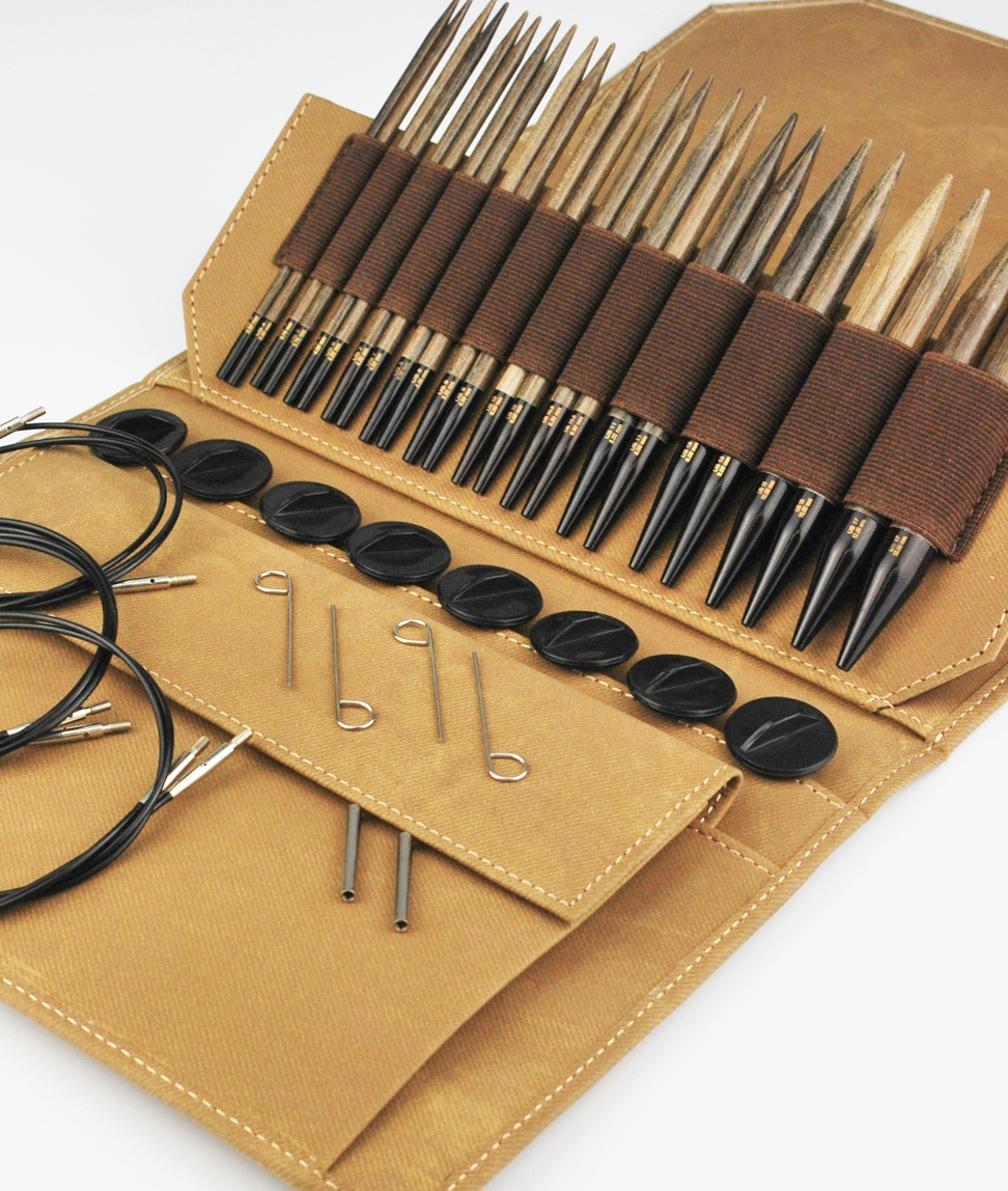 <strong>Driftwood Needle Set</strong><br>Umber Color<br>NEW!