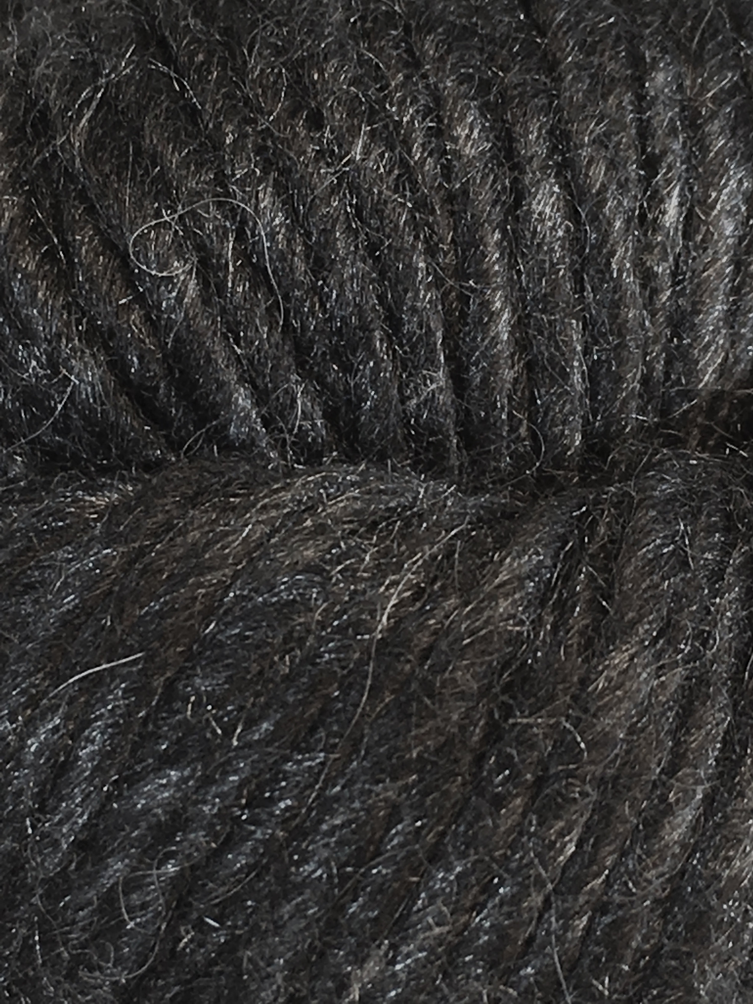 Juniper Moon Farm Moonshine Chunky<br>Baby alpaca, wool and silk<br><strong>Iron</strong><br>.