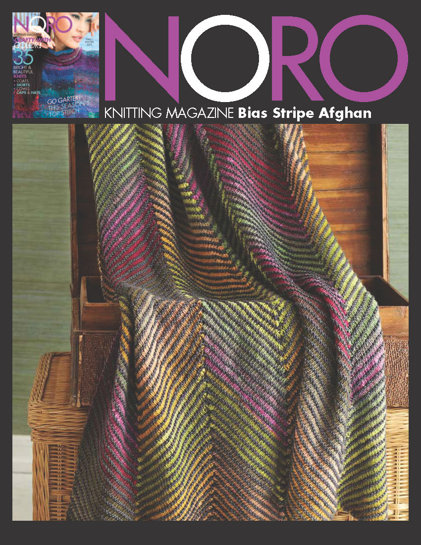 Bias Stripe Afghan