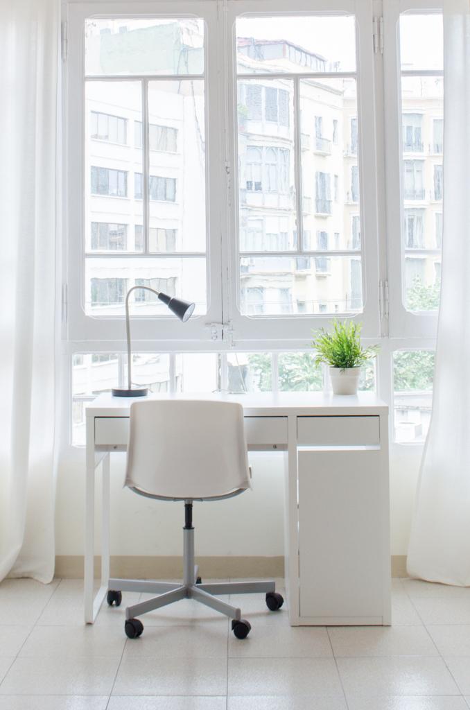 Study area, student apartment Barcelona