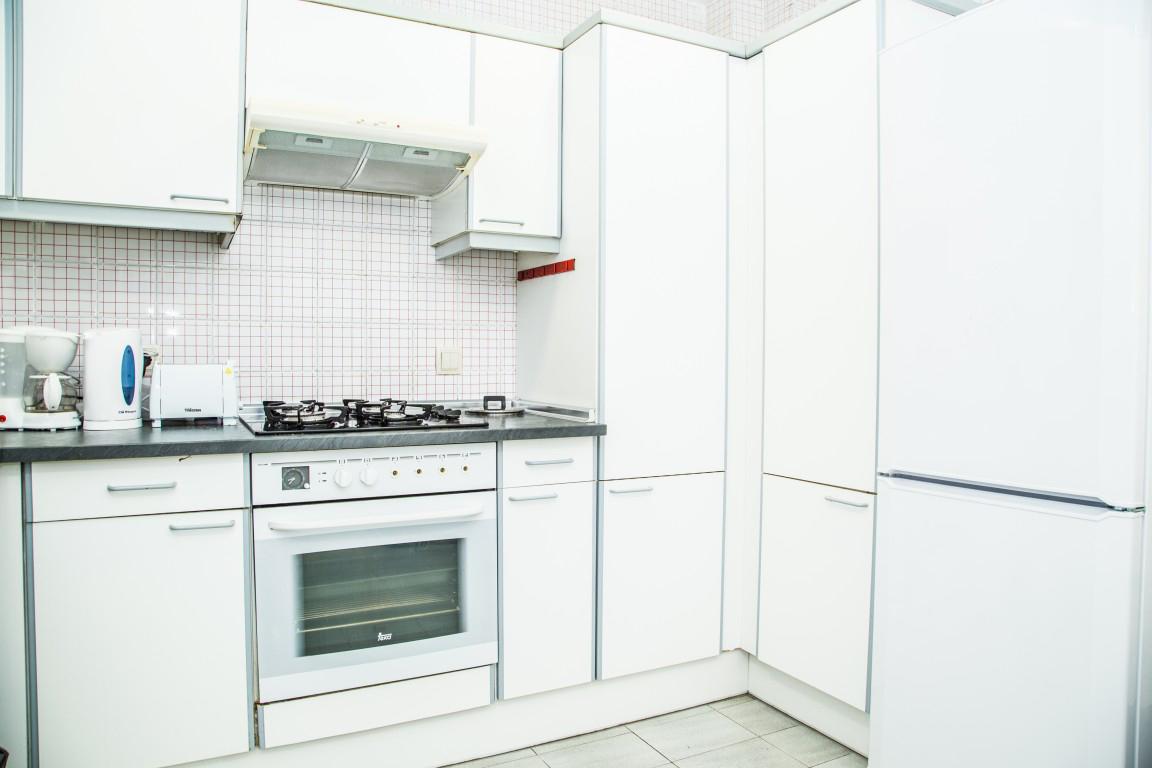 Kitchen, student apartment Barcelona