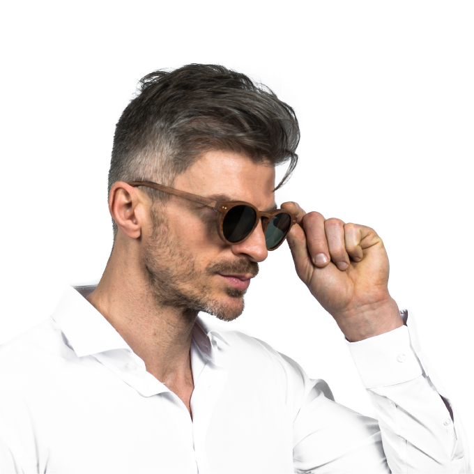 Mens polarised luxury sunglasses bull run grey Jabrock eyewear.jpg
