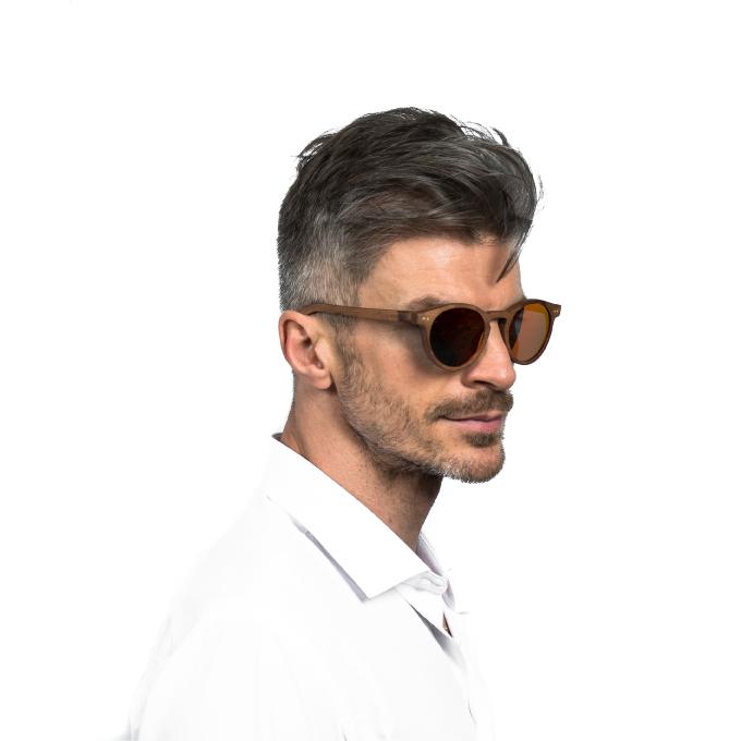 Mens polarised luxury sunglasses bull run dusk red Jabrock eyewear.jpg