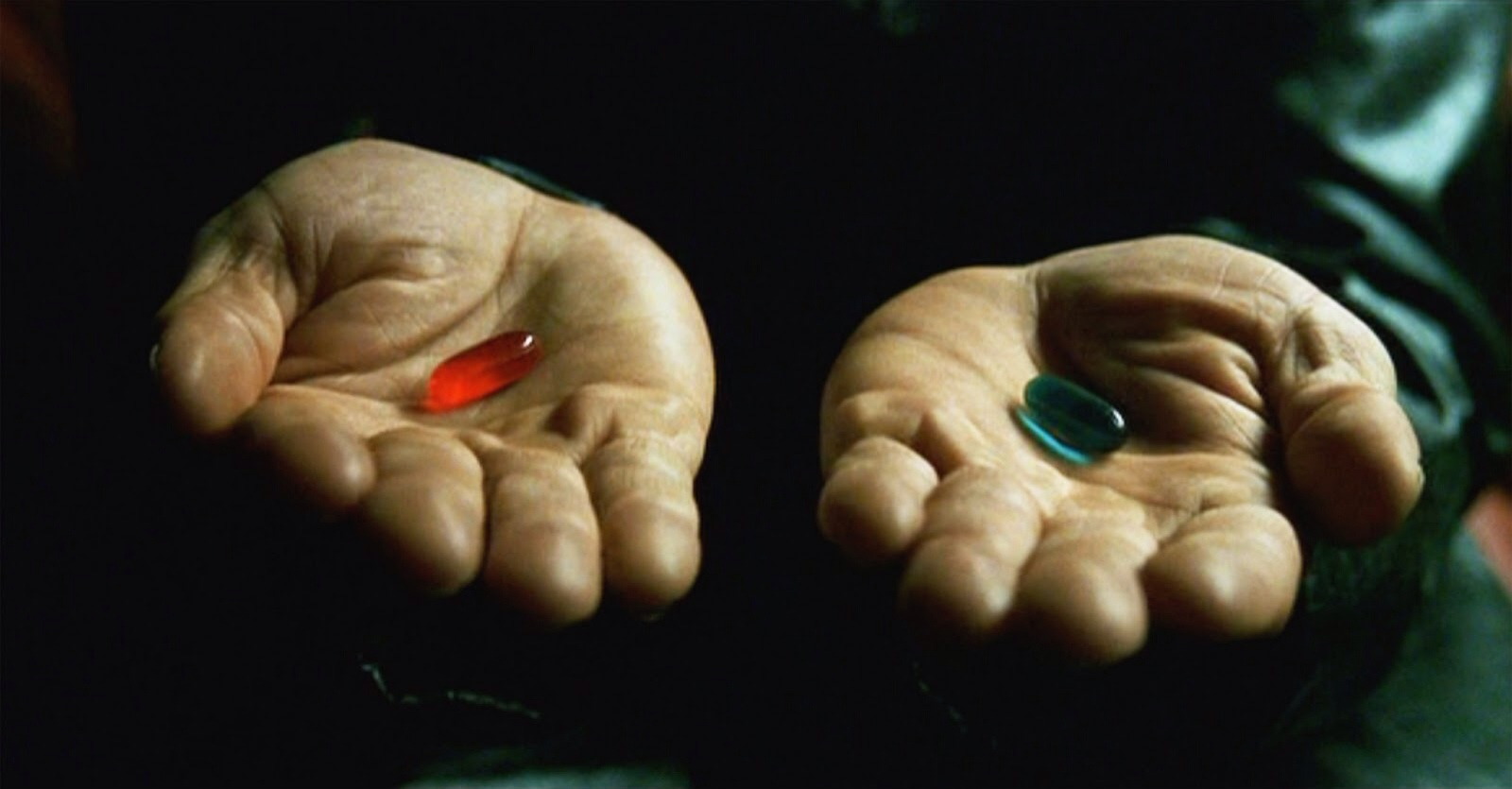 Converted Clicks and Convervsions - The Matrix Red Pill, Blue Pill