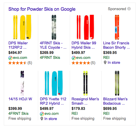 Google Shopping Product Reviews