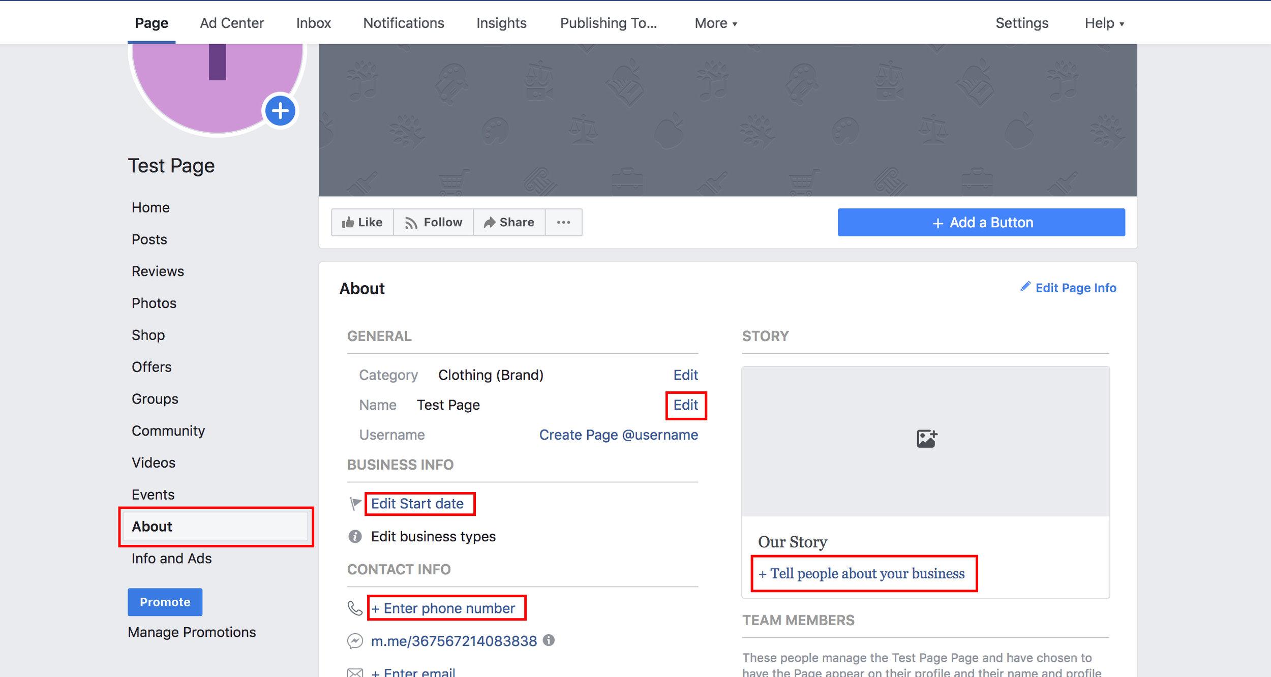 Develop-Facebook-Page
