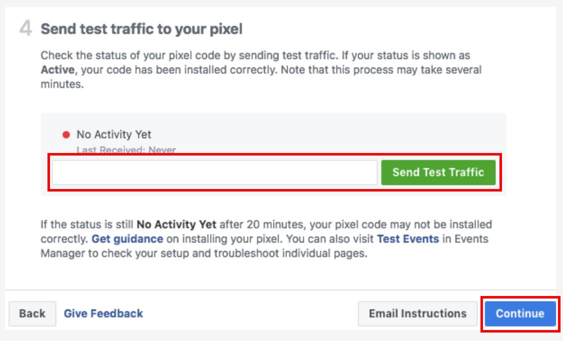 pixel-send-test-traffic