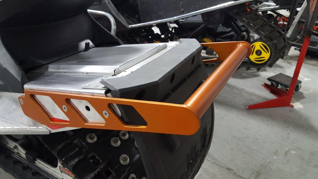Skidoo Rear Bumper -
