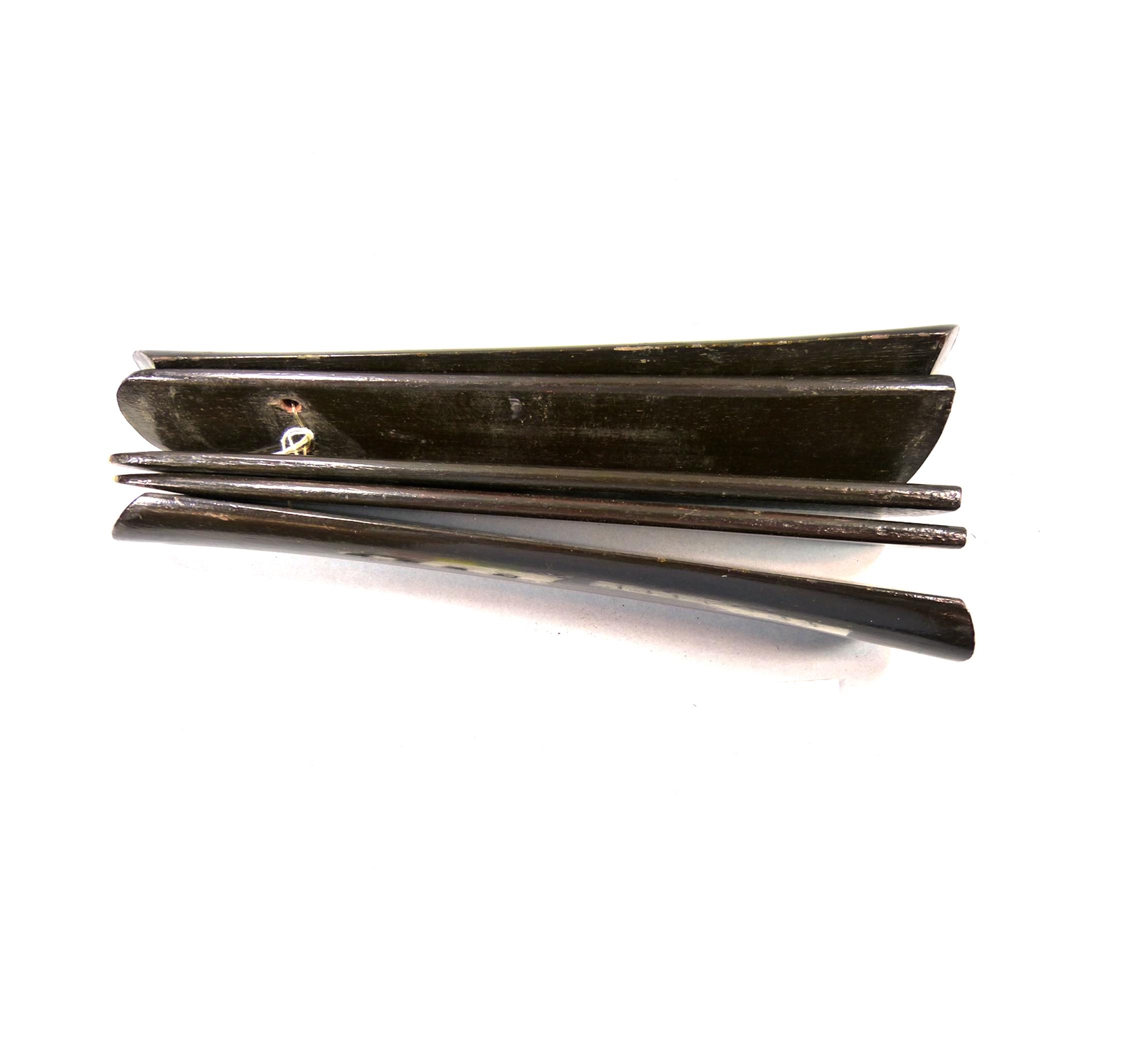Bamboo clapper