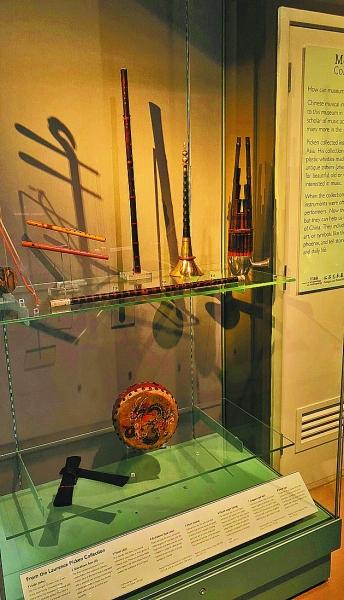 剑桥大学收藏的昆曲乐器等藏品
