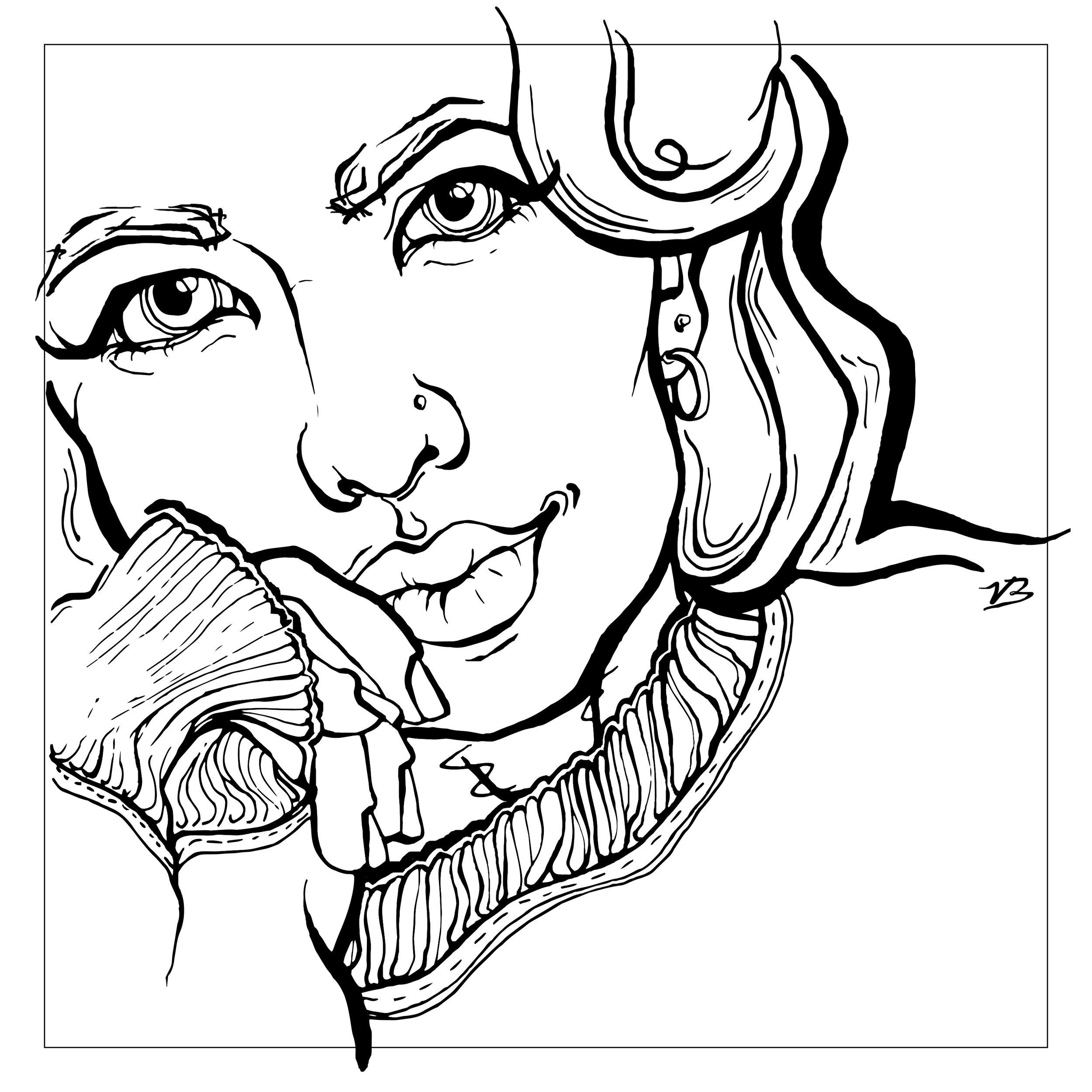 artwork by victoria biglands