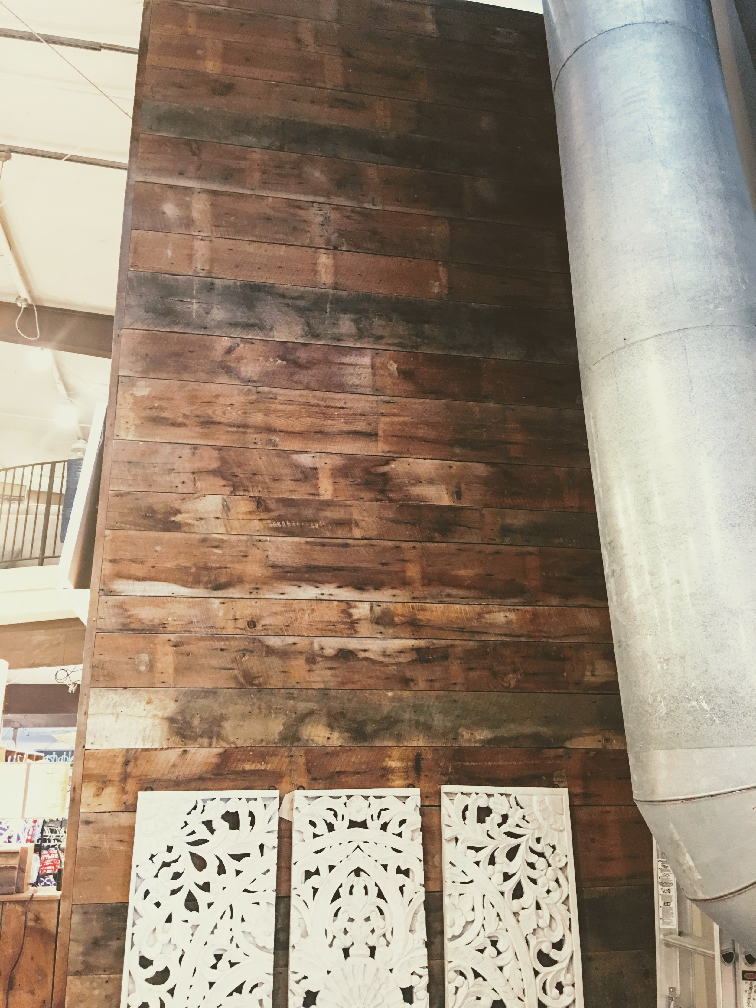 Barn Wood Accent Walls | Celadon