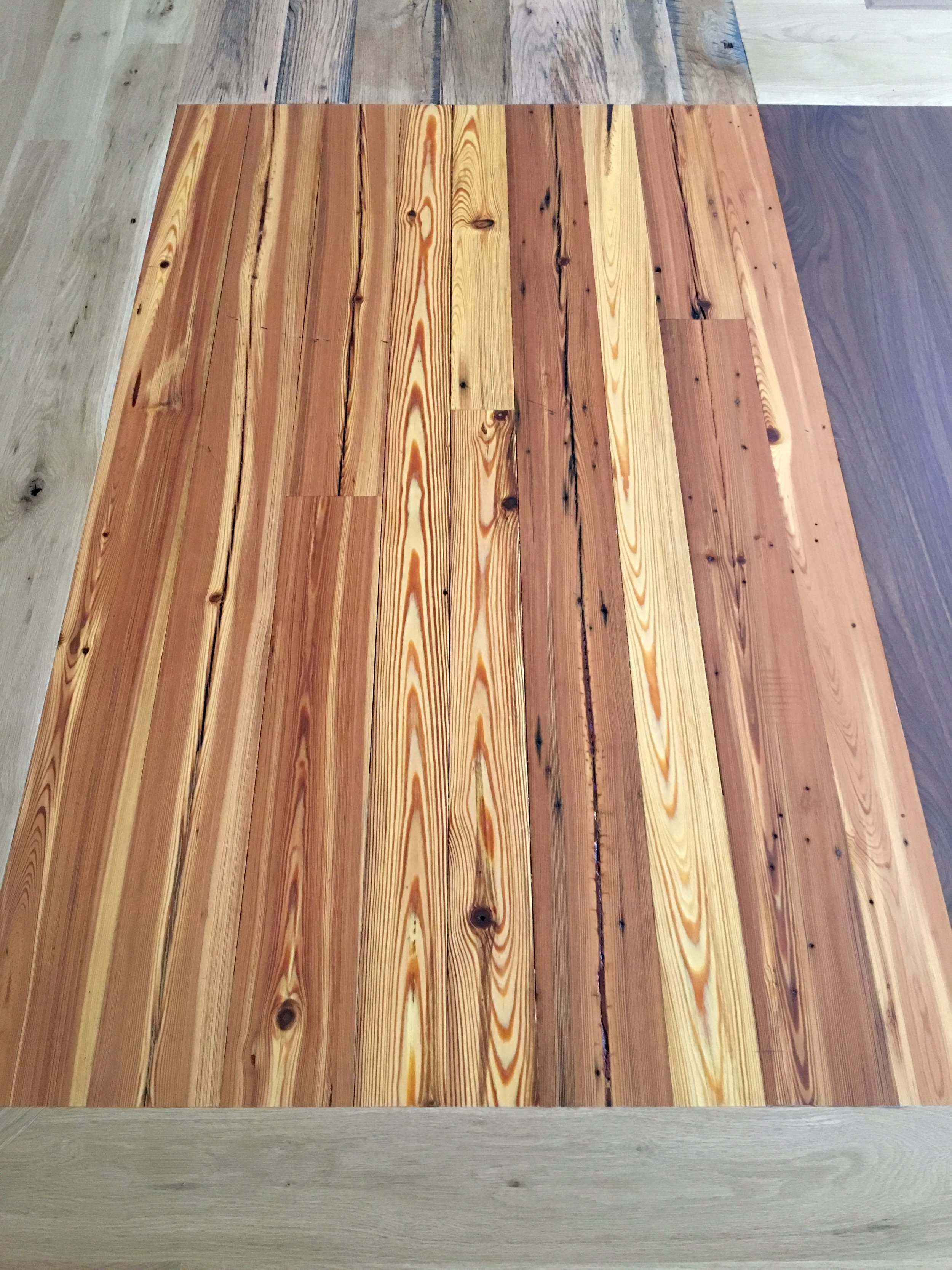 RECLAIMED ANTIQUE HEART PINE