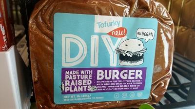 Tofurky DIY Burger