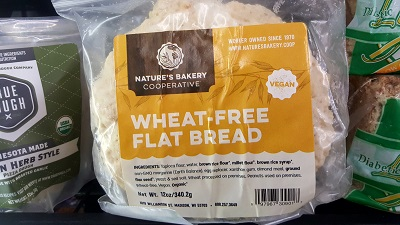 Nature's Bakery Local Gluten Free Flatbread