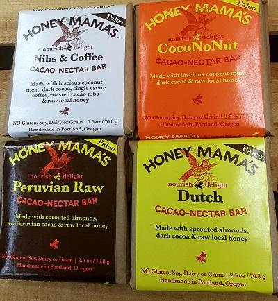 Honey Mama's Paleo Cacao Bars
