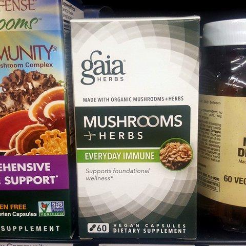 Gaia Mushrooms + Herbs