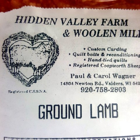Hidden Valley Farm & Woolen Mill Ground Lamb