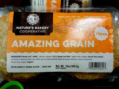 Nature's Bakery Amazing Grain Burgers