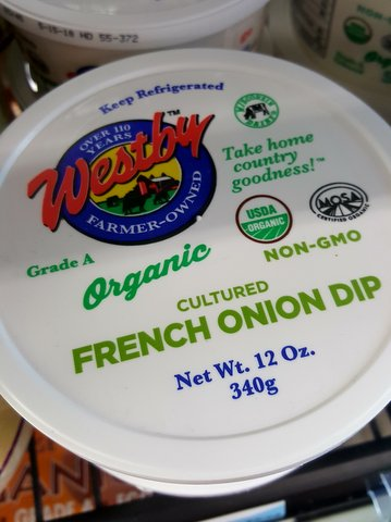Westby Co-op Creamery French Onion Dip