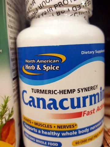 Canacurmin Turmeric Hemp