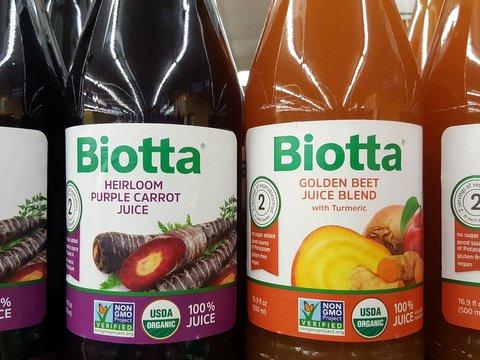 Biotta Organic 100% Juices