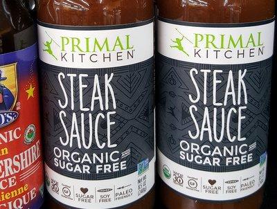 Primal Kitchen sugar free steak sauce