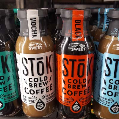 Stok unsweetened & low sugar cold brew coffees