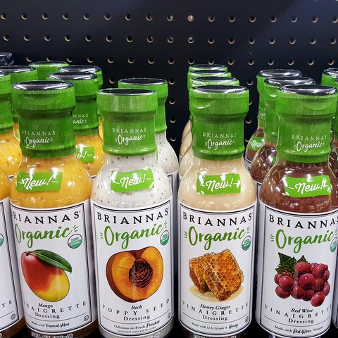 Brianna's organic dressings & marinades