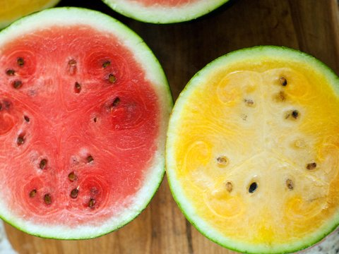 Local Yellow, Orange & Red Watermelons