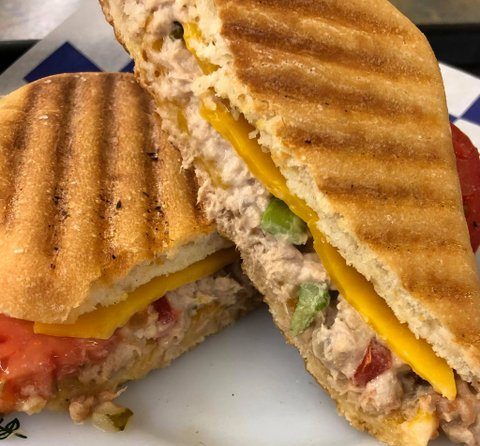 Paninis on-the-go:  order paninis and more for pickup or delivery, now through  EatStreet  or  Grubhub !
